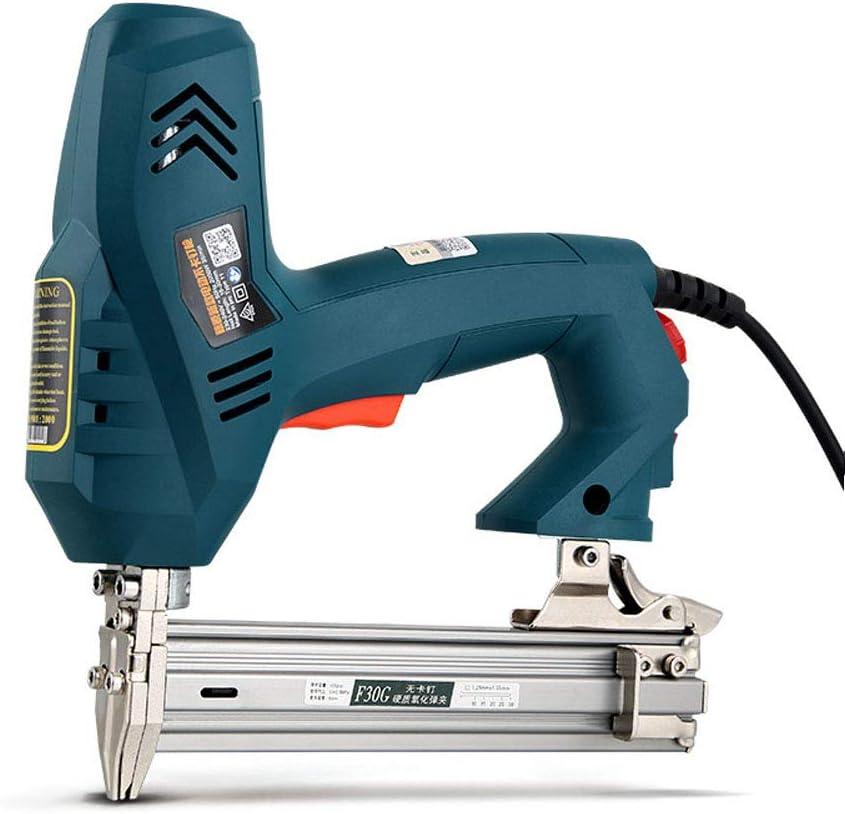 Agrafeuse /à travailler le bois 220V Conception conviviale Pistolet /à clous /électrique 2350W Pistolet /à clous droit pour pistolet /à clous /électrique robuste F30