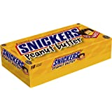 SNICKERS Peanut Butter Squared Singles Size Chocolate Candy Bars 1.78-Ounce Bar 18-Count Box