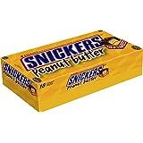 Barre Carré Snickers Beurre de Cacahuète, 50 g (Pack de 18)
