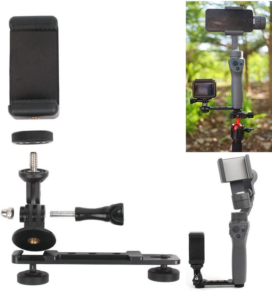 for DJI Osmo Mobile 2 Handheld 3Axis Gimbal Stabilizer Holder Smartphone Camera TM Elevin Phone Holder for DJI Osmo