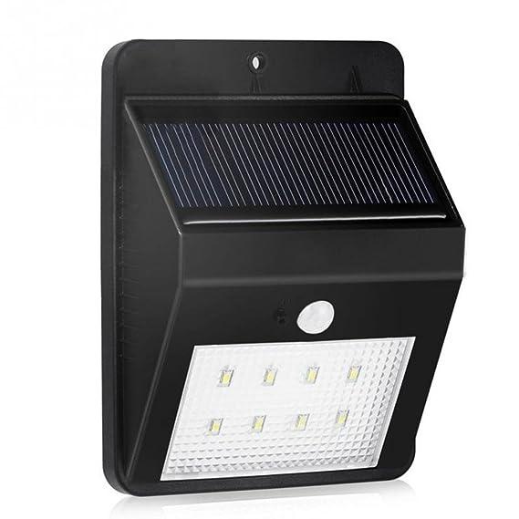 proyector LED llevó la luz de seguridad solar, luz solar ...