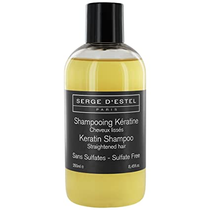 Champú sin sulfatos para cabello liso queratina, proteine de ...