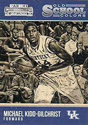 Michael Kidd-Gilchrist basketball card (Kentucky Wildcats) 2015 Panini Old School Colors #24