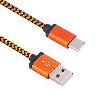 Vimoli Cable USB 3.1 Cargador USB C Nylon Carga Rápida y Sincronización Cable USB C 95CM Compatible con Samsung Galaxy S9/S8/Note8, A5(2017), Huawei ...