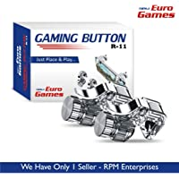 RPM - Euro Games Metal Pubg l1r1 Mobile Gaming Controller Button triggers for Phone