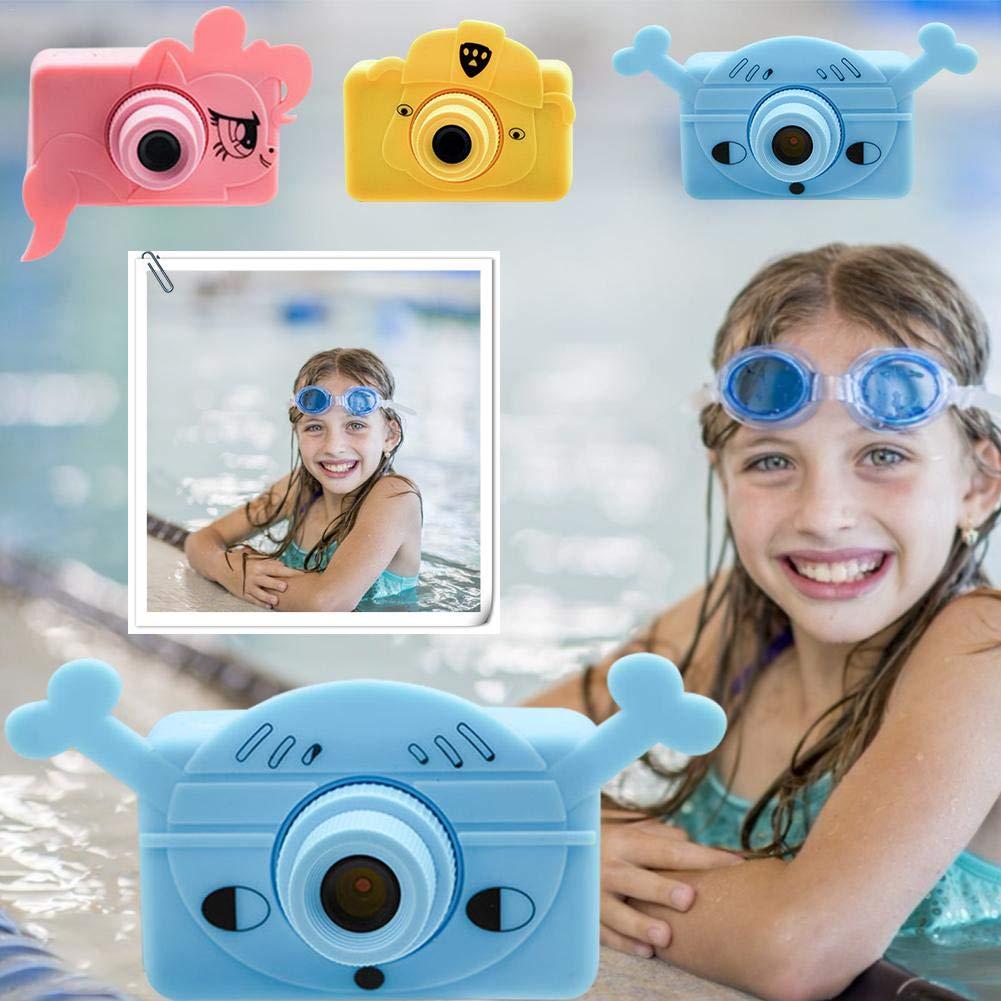telisii 1080P HD Children's Camera-2 inch Color Screen Anti-Shake Children's Camera,Maximum Memory Children's Camera,Mini Kids Digital Camera by telisii (Image #7)