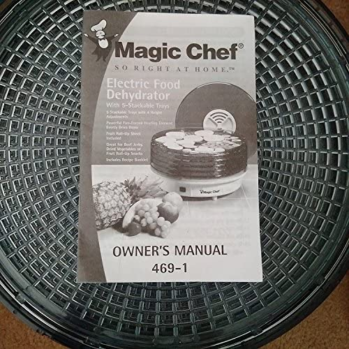 MAGIC CHEF ELECTRIC FOOD DEHYDRATOR 469-1