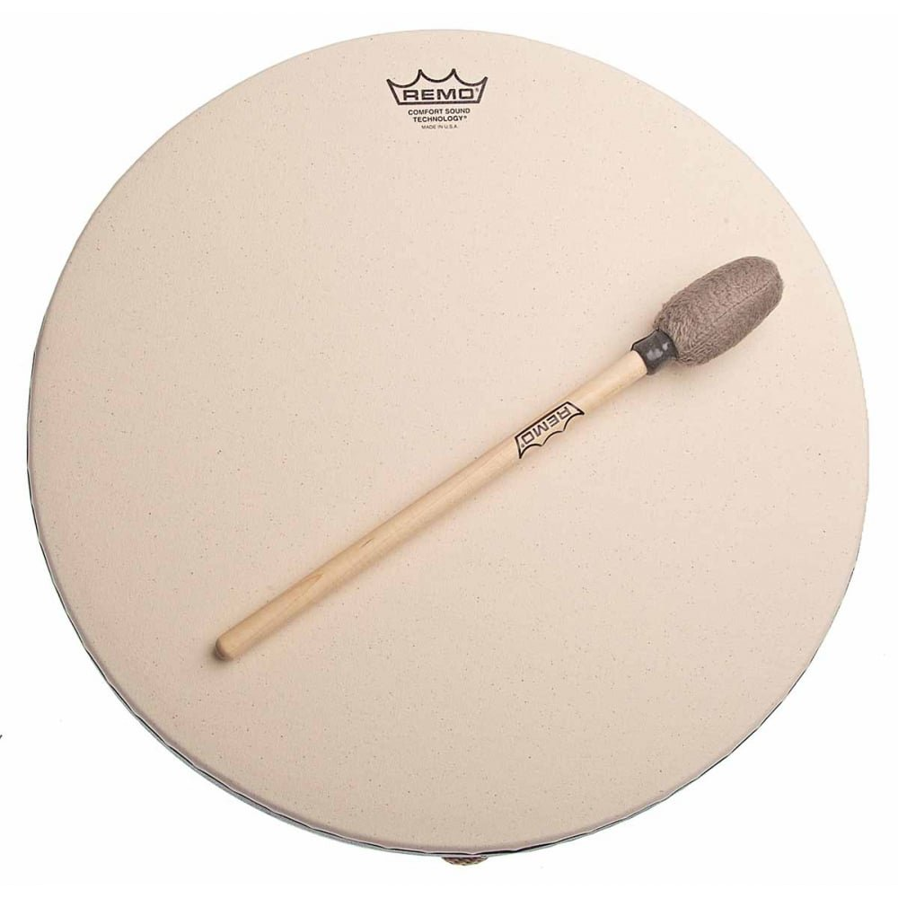 Remo Buffalo Drum with Comfort Sound Technology 14 in. Black by Remo