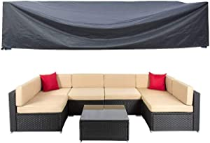 Patio Furniture Set Cover Outdoor Sectional Sofa Set Covers Outdoor Table and Chair Set Covers Water Resistant Large 126