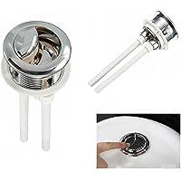 38 mm Bouton poussoir double pour chasse d'eau WC Chromé Haute Pression de pompage Accessoires pour toilettes Closes tool Par Ungfu Mall