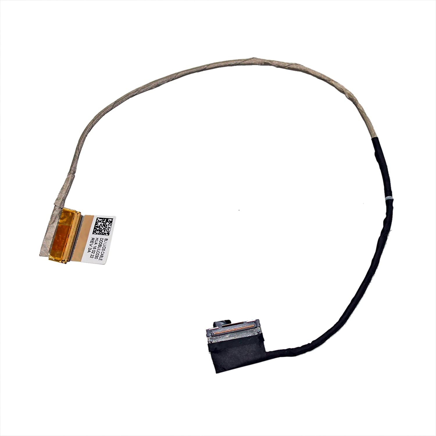 40 Pin GinTai LCD LED LVDS Video Screen Cable Replacement for Toshiba S55-B5203SL S55-B5258 S55-B5266 PSPQ6U