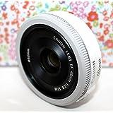 Canon 単焦点レンズ EF40mm F2.8 STM フルサイズ対応-White- Bulk Package [並行輸入品]