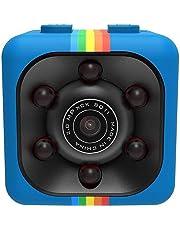 Tiowea Mini Cámara Espia HD 1080 Mini Coche Cámara de 360 ??Grados de Grabación de Video, Cámara De Deporte o Webcam, Soporte Micro SD, Apoye la Visión Nocturn Cámaras espía