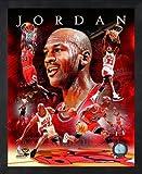 Michael Jordan Chicago Bulls 8x10 NBA Composite Photo in Sports Frame