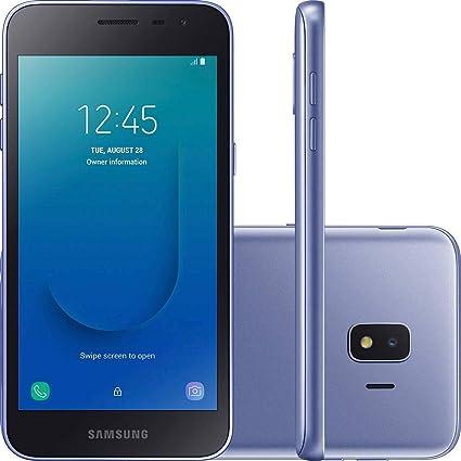 Samsung Galaxy J2 Core 2018 Factory Unlocked (Usa Latin Caribbean) Android  Oreo SM-J260M Dual Sim 8MP International Version, No Warranty (Lavender)