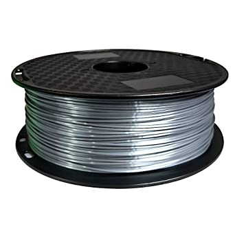 Eono Silk Silver PLA Filament 1.75 mm 3D Printer Filament 1KG 2.2 ...