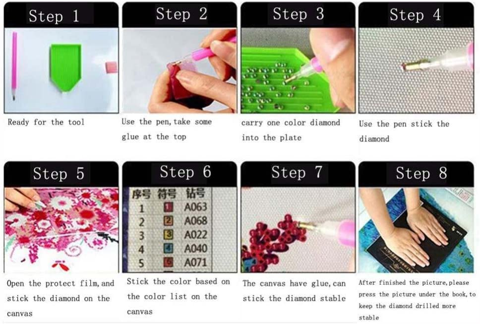 Clearance I 5D Diamond Painting Kits Angel for Adult Kids Round Drill Cuekondy DIY Rhinestone Pasted Diamond Embroidery Craft for Living Room Bedroom