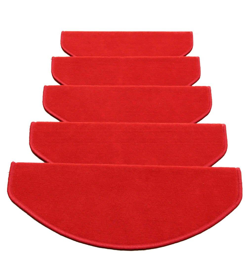 ZENGAI Fibbia magica tipi Scale Tappetino Pad Con protezione Antiscivolo Resistente all'usura Tappetino (Per gradini non lisci) (Colore : A-1 Piece, dimensioni : 65x(24+3) cm) DD Home Store