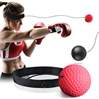 GothicBride Boksenreflexbal, boksenreflexbal, boksenhoofdbal, MMA Speed Training Reflex Ball Set met 2 soorten bal…