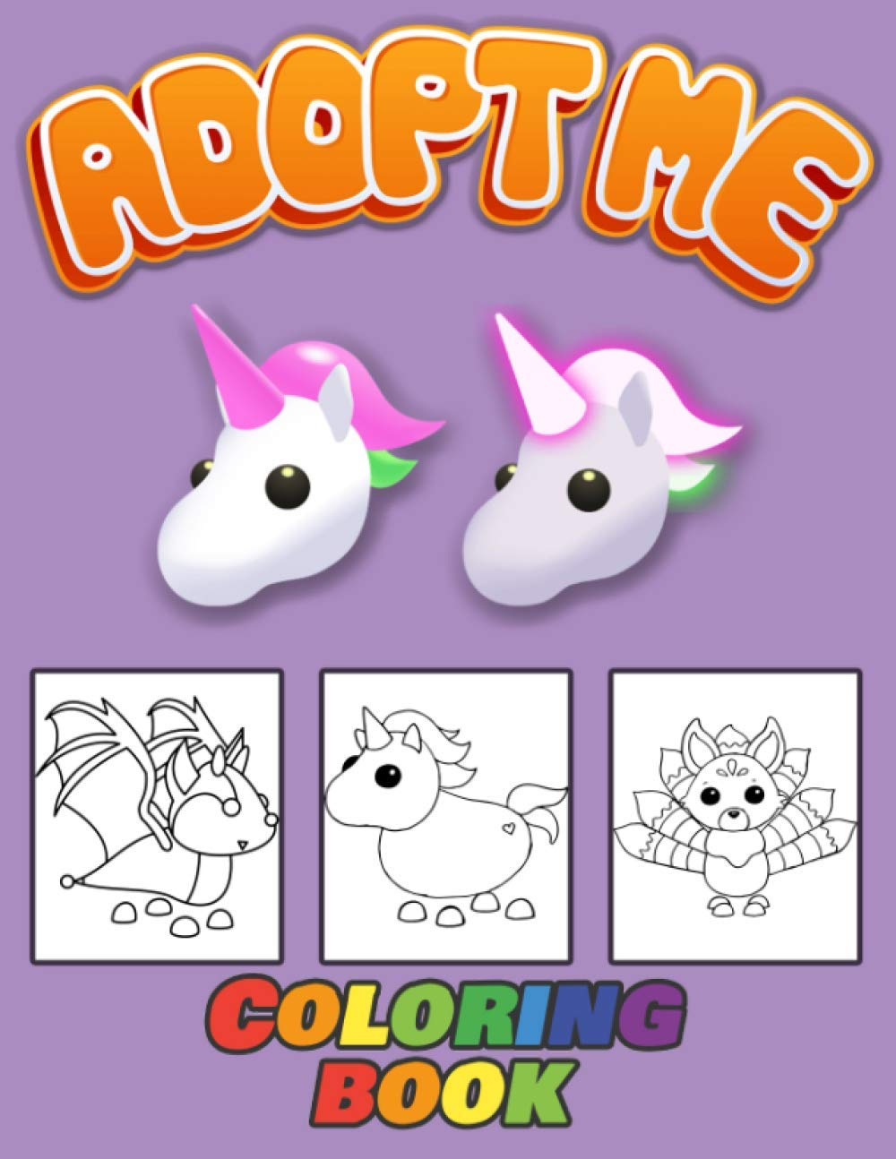Adopt Me Coloring Book Exclusive Adopt Me Roblox Coloring Book ...