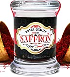 Afghan Saffron Threads ( Average Color Reading 250 ) Royal Quality, All Red Stigmas (0.106 ounce, 3 Grams)