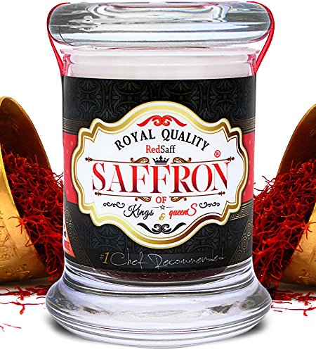 Premium Afghan Saffron Threads (250+ Grade A, Pure Saffron) Non-GMO, Vegan, No Preservatives or Additives (3 grams, 0.105 once)