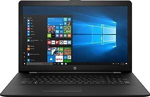 """HP 17-BS019DX - 17.3"""" HD+ - Core i7-7500U - 8GB Memory - 1TB HDD - Black"""