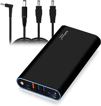 BatPower EX7H 98Wh Laptop External Battery Power Bank for HP Pavilion Envy Spectre Split Slatebook Chromebook Streambook EliteBook Notebook(Circular ...