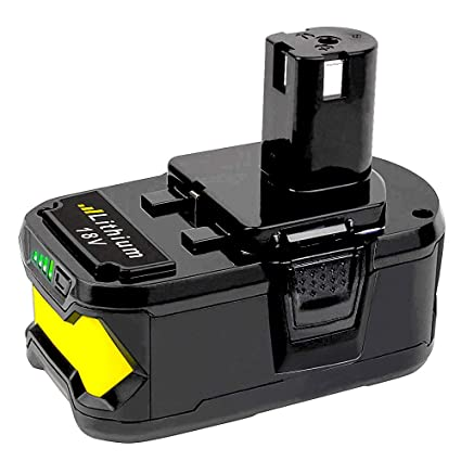 5 5Ah Replace for Ryobi 18 Volt Battery, Lithium-ion Battey for Ryobi ONE+  P104 P105 P103 P107 P108 P507 BPL-1815 BPL-1820G BPL18151 BPL1820 Cordless