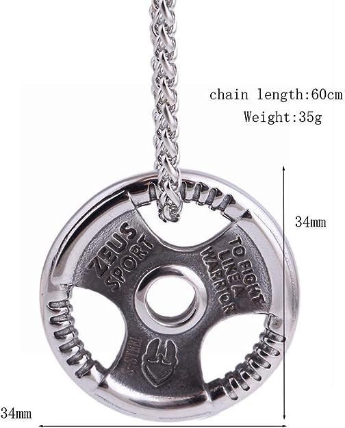Lohome Mens Fashion Necklaces Titanium Steel Steering Wheel Pendant Necklace For Men Jewelry Necklaces