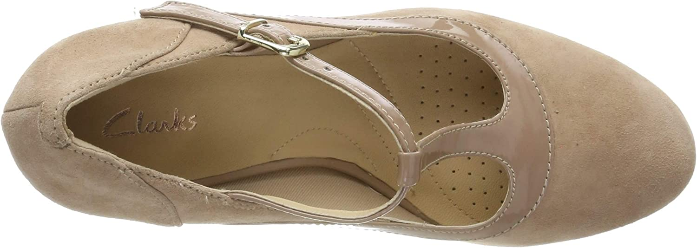 Clarks Chorus Pitch Zapatos de Tac/ón para Mujer