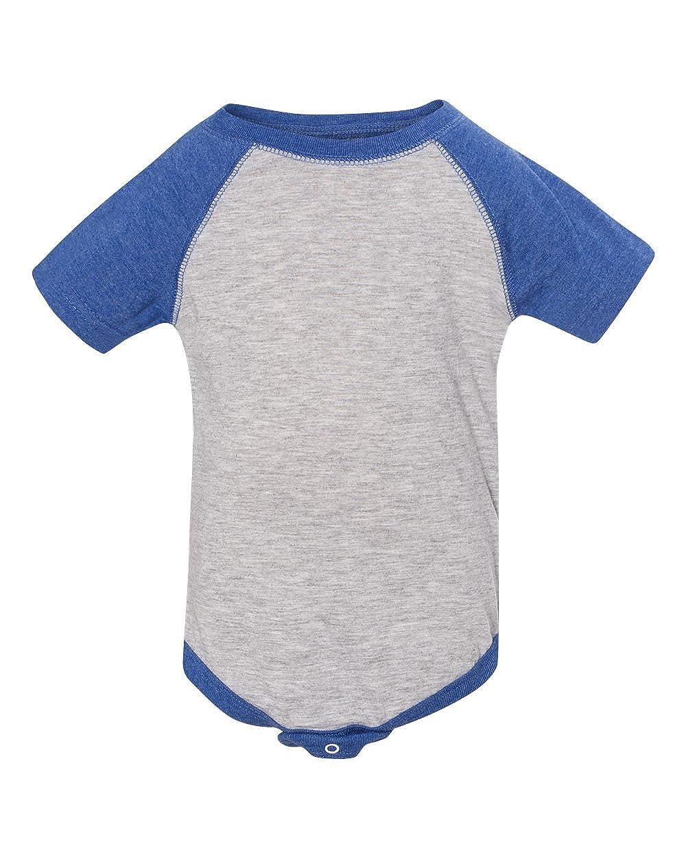 VN Heather//V 6MOS Clementine Infant Baseball Fine Jersey Bodysuit RS4430