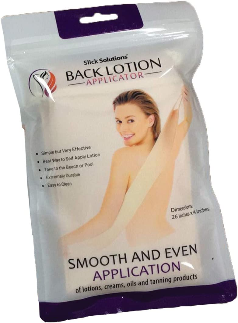 Amazon Com Lotion Applicator For Your Back Easy Application Of Lotions And Creams Smooth And Even Application To Entire Back Sunscreen Applicator For Back Health Personal Care