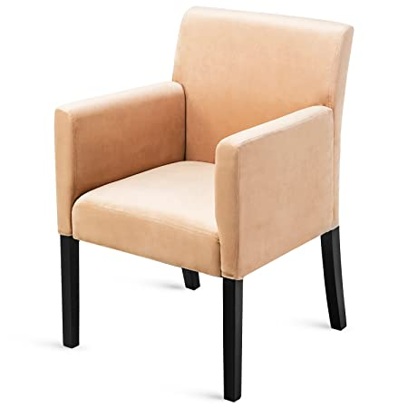 Harper Bright Designs Accent Chair Stylish Arm Chair in Soft Fabric Living Room Furniture Bright Beige