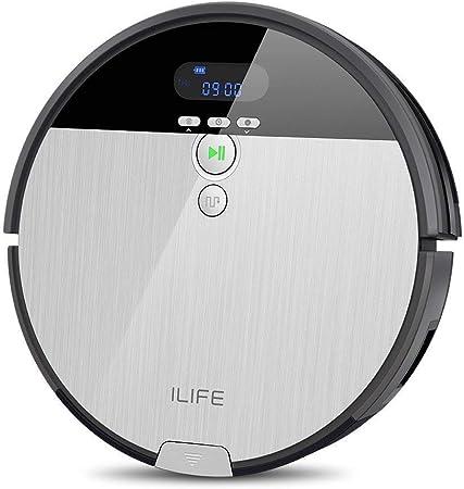 Robot Aspirador ILIFE V8s robot de limpieza de piso de barrido y fregado con tanque de agua, 5 modos de limpieza (Reacondicionado): Amazon.es: Hogar