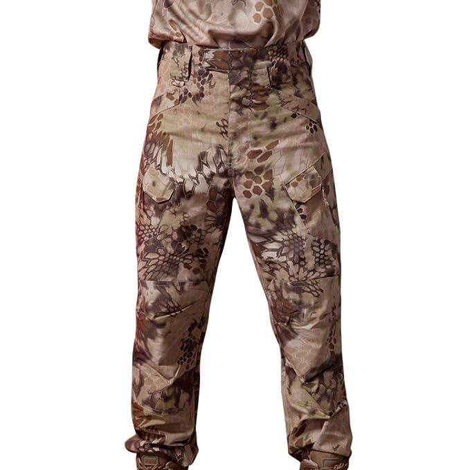 Pantalones De Caza Para Hombre Caza De Camuflaje Tamaños Cómodos A Prueba De Viento Impermeable Seam Sellado Pantalones Cargo Pantalones Vintage Casual ...