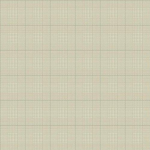 (York Wallcoverings AB2047 Nautical Living Harris Plaid Wallpaper, Cream/Tan/Grey)