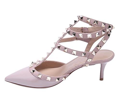 Vestir Mujer Para esY Complementos Zapatos De Rosa RosaAmazon Queen Van Charol NwvOm8n0