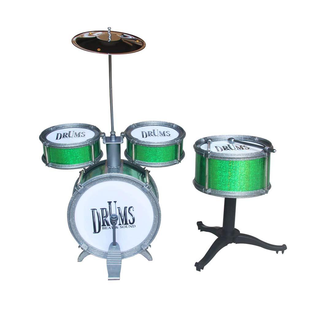 華麗 LIUFS-ドラム : 子供のドラム初心者の練習ドラムシミュレーションジャズドラム楽器のおもちゃ (色 LIUFS-ドラム : Green) (色 Green B07GWCPPD6, ジュエリーワールド ラマジェムス:b58dec06 --- a0267596.xsph.ru