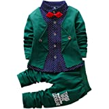 29f16e688 Amazon.com  Toraway Toddler Newborn Infant Baby Boys Gentry Clothes ...