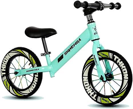 Hejok Bicicleta Verde De Equilibrio, Ruedas De Bicicleta De ...