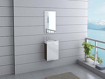 Wasserhahn Gäste Wc badmöbel california inkl spiegel inkl wasserhahn gäste wc