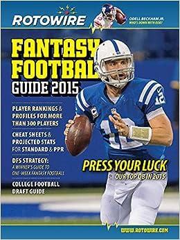 Rotowire Fantasy Football Guide 2015 - Magazine Subscription