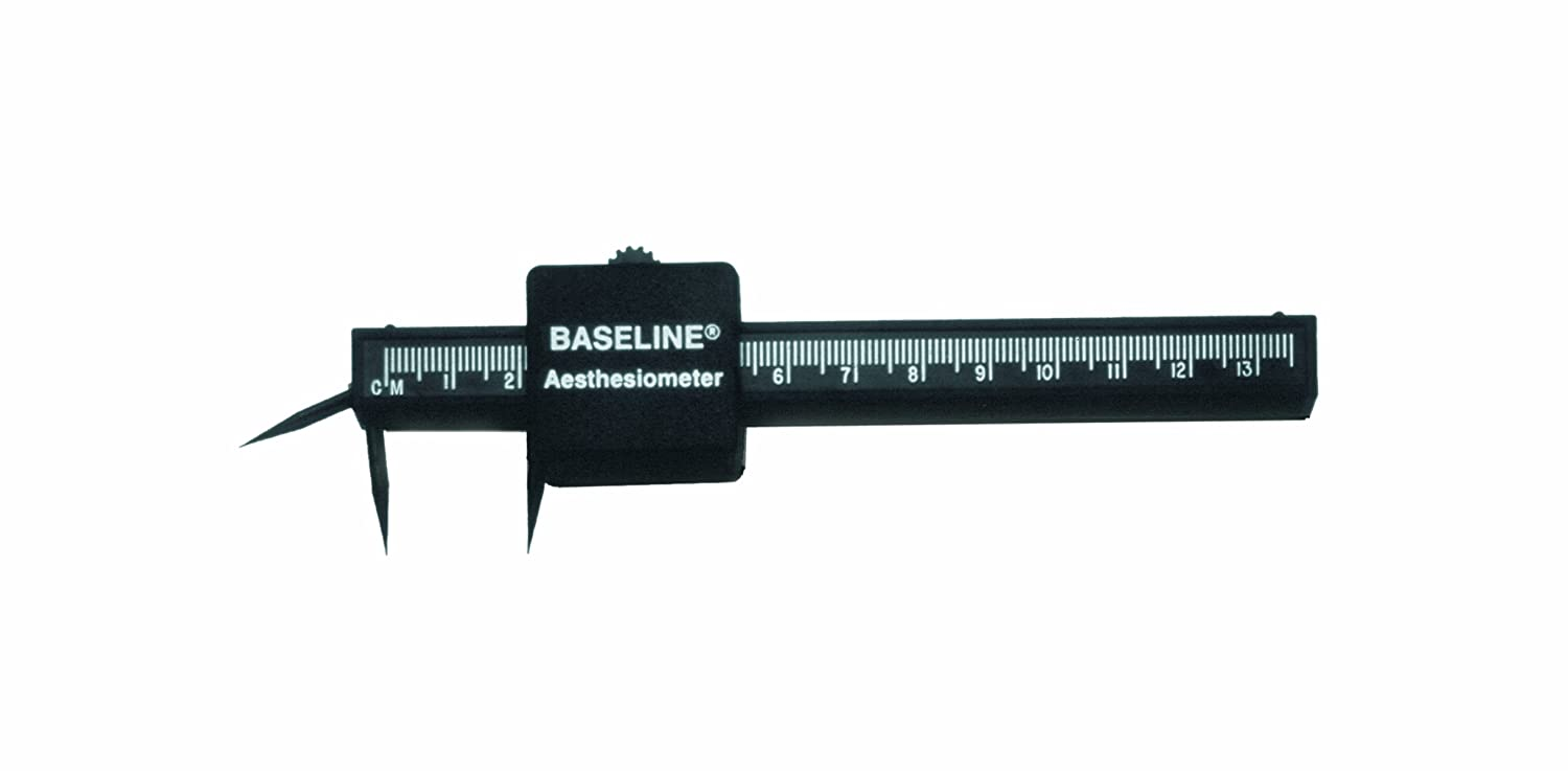 Baseline 12-1481 Aesthesiometer, Plastic, 2-point Discriminator with 3rd point