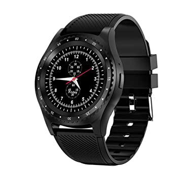 DUABOBAO L9 Smart Watch Men, Sim Card + Camera + Bluetooth + Sports Fitness Tracking para Teléfonos Móviles con Android iOS, Relojes Inteligentes,Black: ...