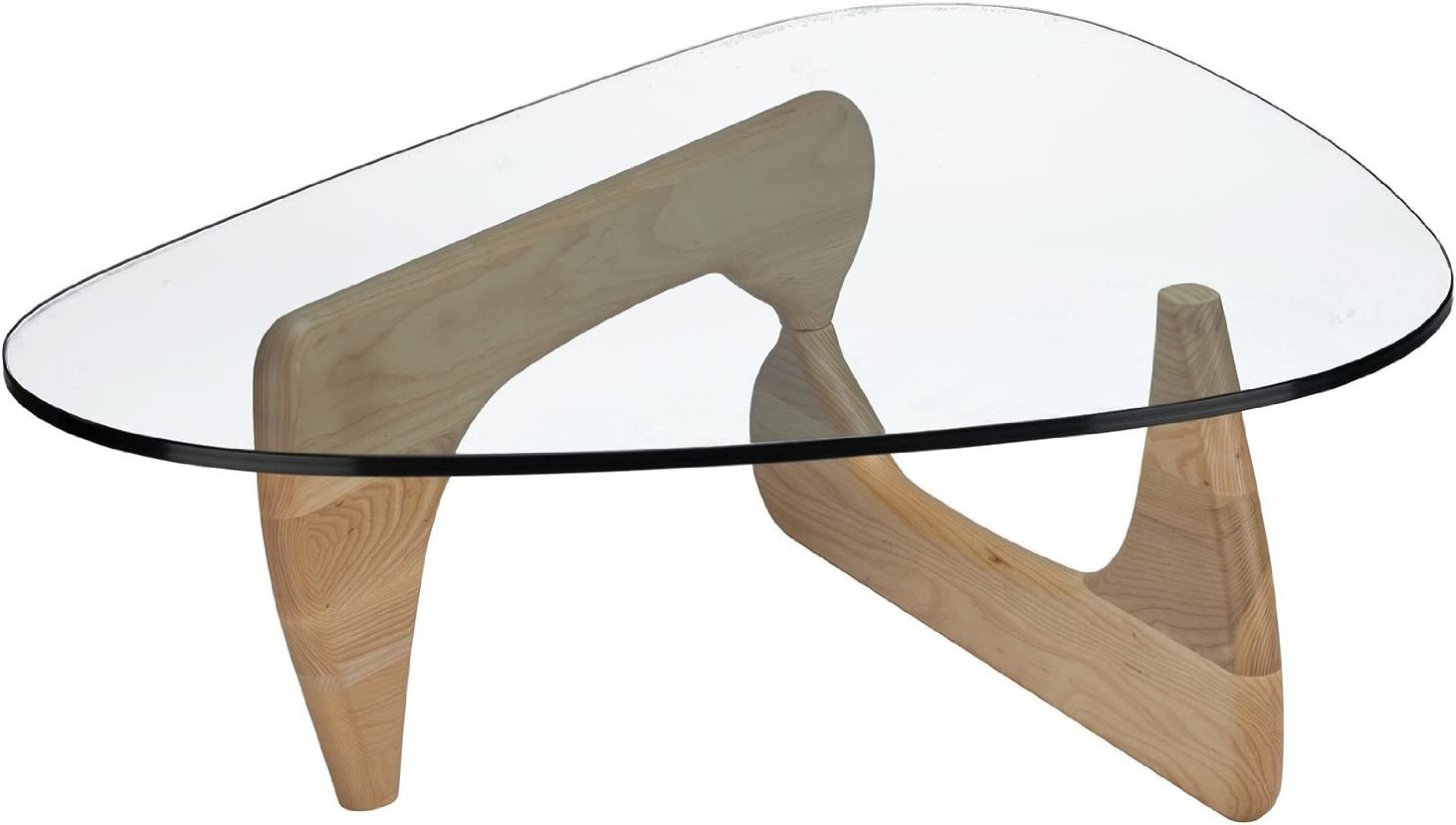 Isamu Noguchi Coffee Table Natural Finish Base
