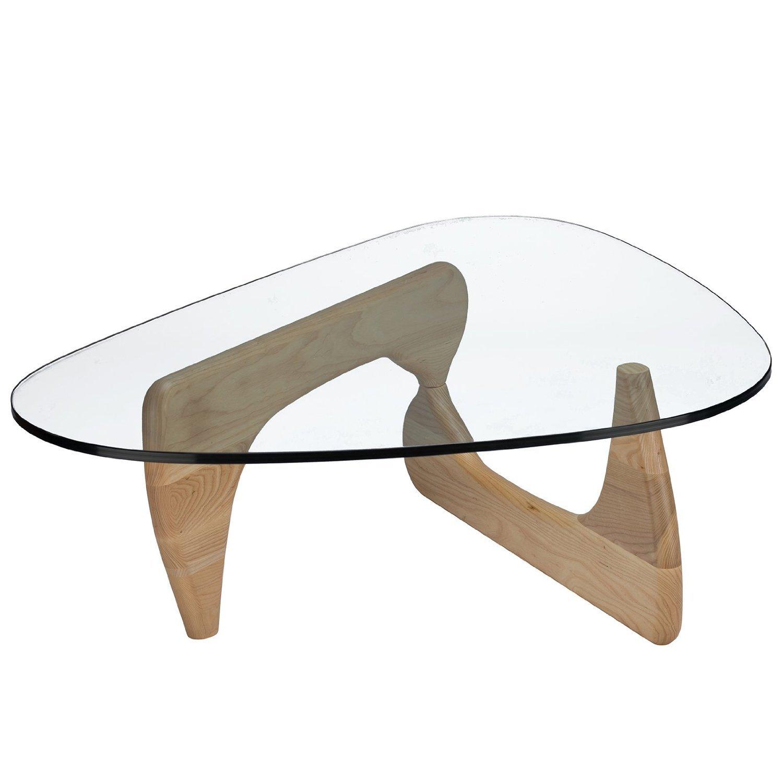 Isamu Noguchi coffee table Natural Finish Base Amazon Home