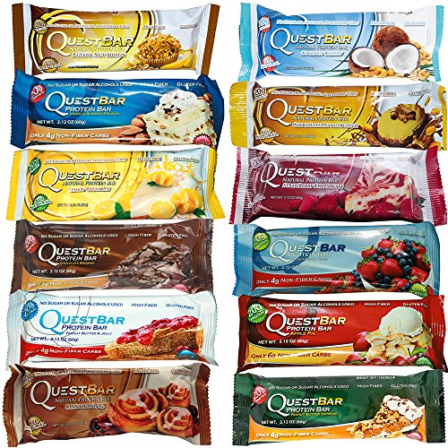 Quest Nutrition - Quest Bar - Variety Box of 12