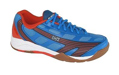 Hi-Tec Infinity Flare Mens Indoor Court Shoe Blue/Tangelo/Navy (7