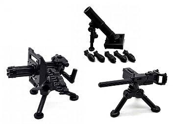 Militares Mini Paquete Ametralladoras Figuras Armas De B2 FJ5uKT3lc1